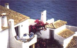 White village on the Costa Del Sol